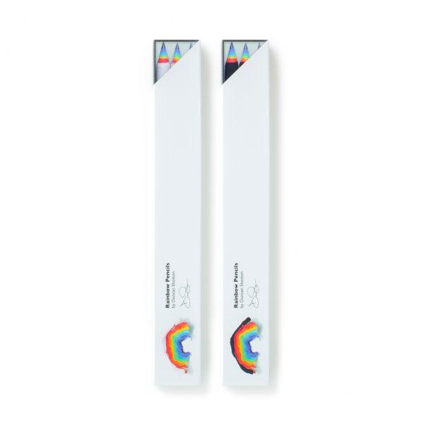 3pc GENUINE rainbow-pencils by Duncan Shotton