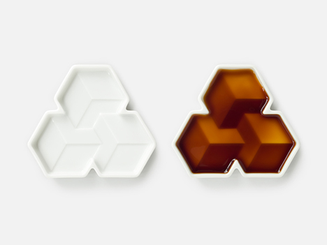"Soy Shape, 2 x ""Cubes"" dishes"