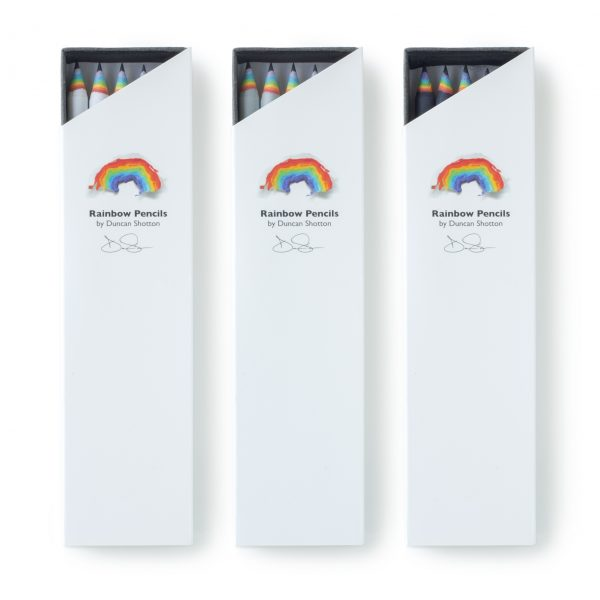 rainbow pencils 5pc_white_light-grey_black gift box