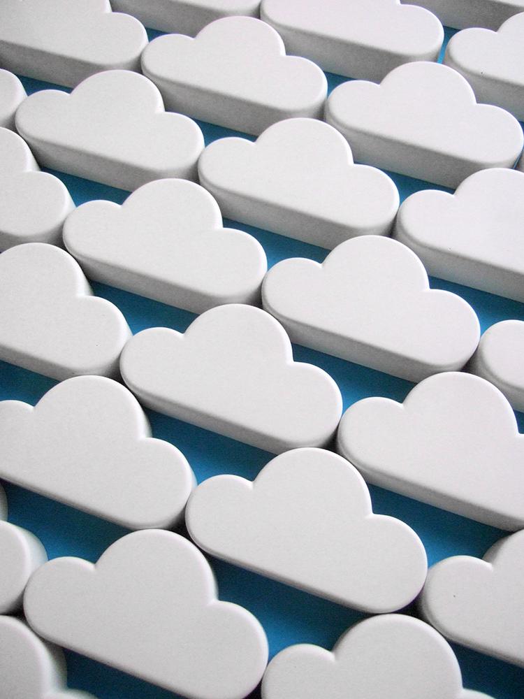 Cloud Keyholder Handmade Originals Duncan Shotton
