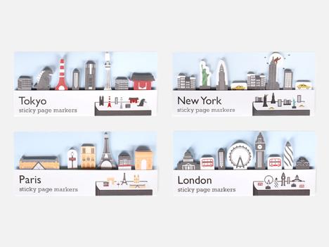 Tokyo, New York, Paris, London