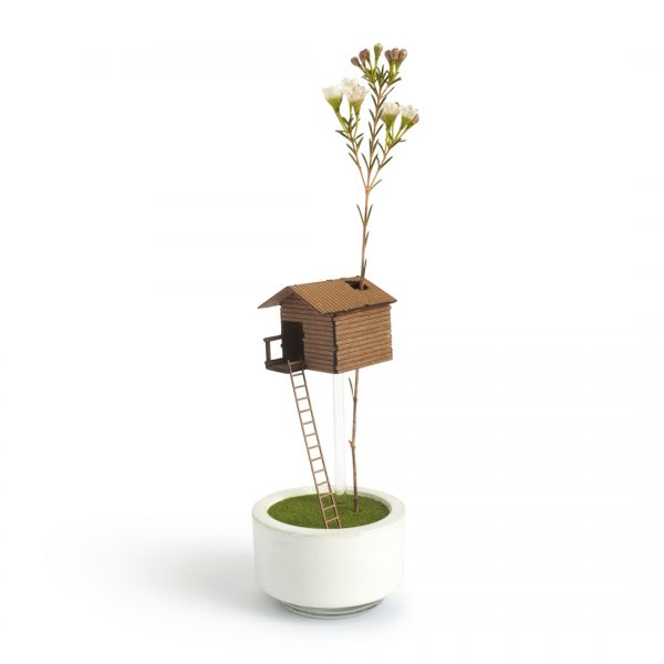 Treehouse Flower Vase by Duncan Shotton - Designer Maker