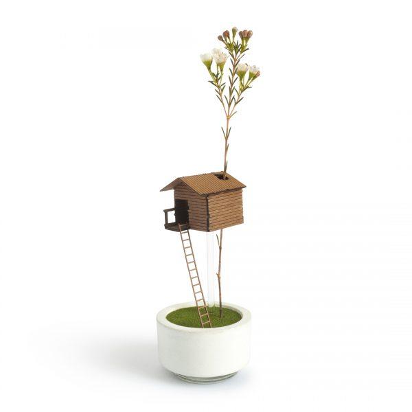 Treehouse Flower Vase by Duncan Shotton - Designer Maker