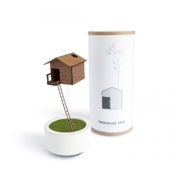 Treehouse Vase - Simple Packaging Design